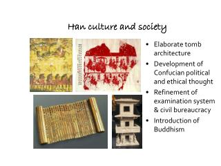 Han culture and society