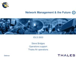 Network Management & the Future