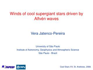 Winds of cool supergiant stars driven by Alfvén waves