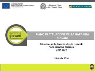 PIANO DI ATTUAZIONE DELLA GARANZIA GIOVANI