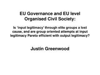 Justin Greenwood