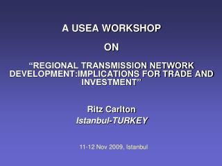 11-12 Nov 2009, Istanbul