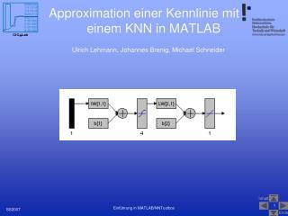 Approximation einer Kennlinie mit einem KNN in MATLAB