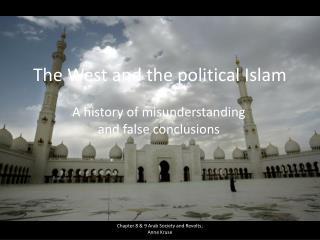 The West and the political Islam