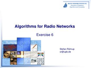 Algorithms for Radio Networks Exercise 6