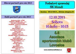 č.6 Asociace sportovních klubů Lovosice