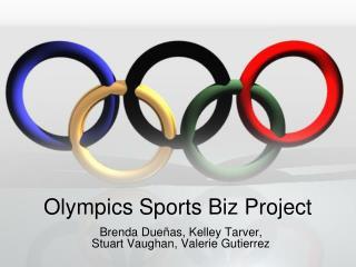 Olympics Sports Biz Project