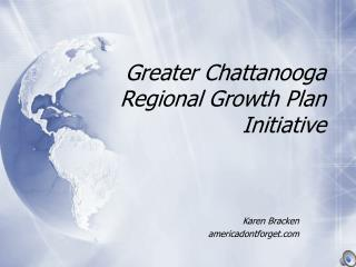 Greater Chattanooga Regional Growth Plan Initiative