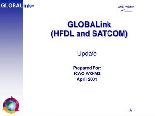 GLOBALink (HFDL and SATCOM)