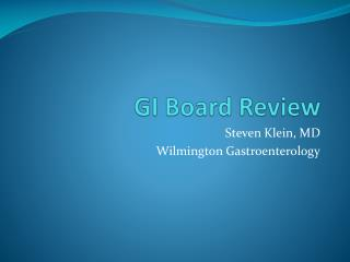 GI Board Review