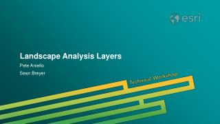 Landscape Analysis Layers