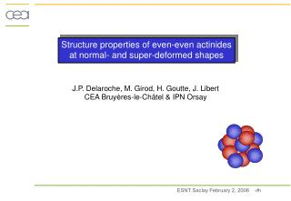 Structure properties of even-even actinides at normal- and super-deformed shapes