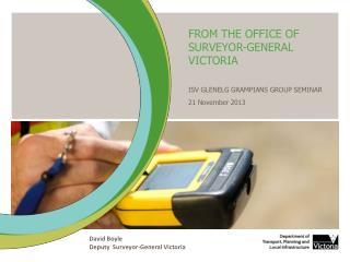 FROM THE OFFICE OF SURVEYOR-GENERAL VICTORIA