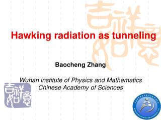 Hawking radiation as tunneling