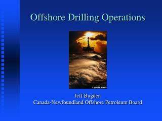 Offshore Drilling Operations