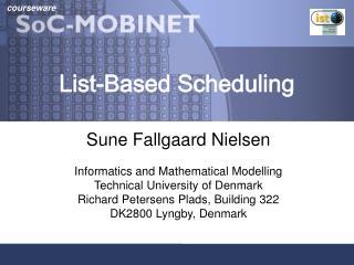 List-Based Scheduling