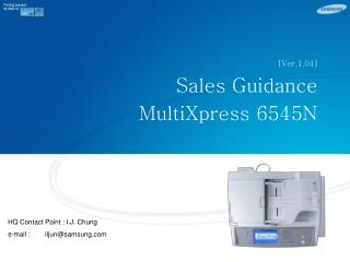 [Ver.1.04] Sales Guidance MultiXpress 6545N