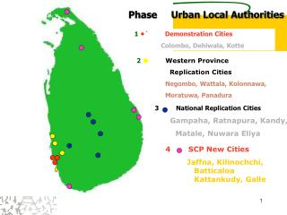 Phase     Urban Local Authorities
