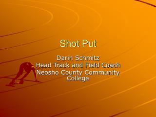 Shot Put
