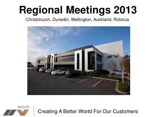 Regional Meetings 2013