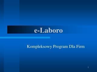 e -Laboro