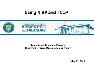 Using NIBP and TCLP