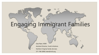Engaging Families  Working with Resistance