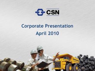 Corporate Presentation April 2010