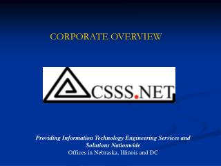 Providing Information Technology Engineering Services and Solutions Nationwide