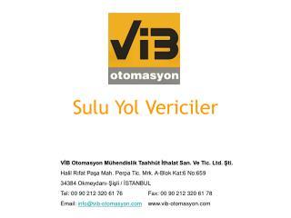 Sulu Yol Vericiler