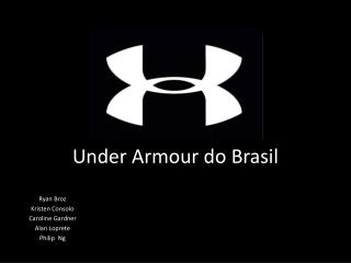 Under Armour do Brasil