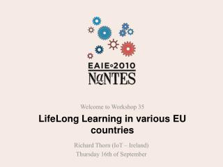 LifeLong Learning in various EU countries