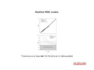 T Kolokotrones  et al. Nature 464 , 753-756 (2010) doi:10.1038/nature08920