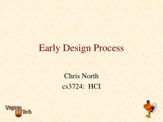 Early Design Process