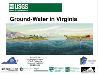 Ground-Water in Virginia