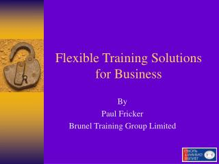 Flexible Training Solutions for Business