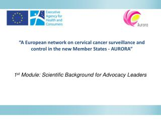 """A European network on cervical cancer surveillance and control in the new Member States - AURORA"""