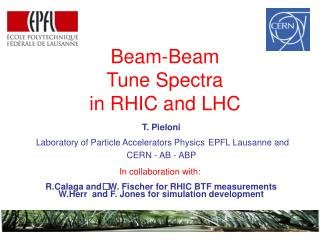 T. Pieloni   Laboratory of Particle Accelerators Physics EPFL Lausanne and CERN - AB - ABP