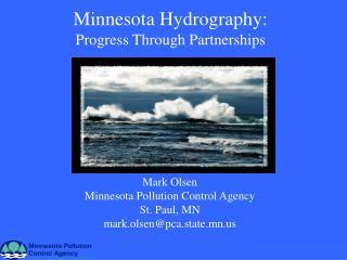 Minnesota Hydrography: Progress Through Partnerships