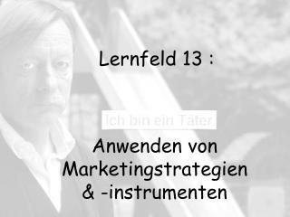 Lernfeld 13 :