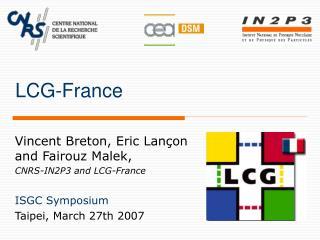 LCG-France