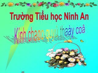 Tr??ng Ti?u h?c Ninh An