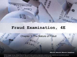 Chapter 1: The Nature of Fraud