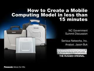 How to Create a Mobile Computing Model in less than 15 minutes