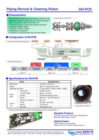■  Specifications for DH-PCR