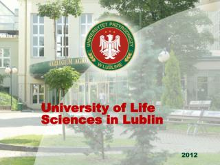 University of Life Sciences in Lublin