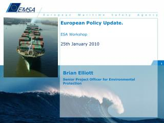 Brian Elliott Senior Project Officer for Environmental Protection