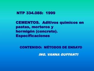 NTP 334.088:  1999