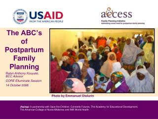 The ABC s of Postpartum Family Planning