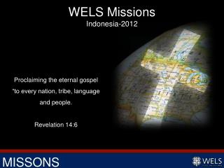 WELS Missions Indonesia-2012